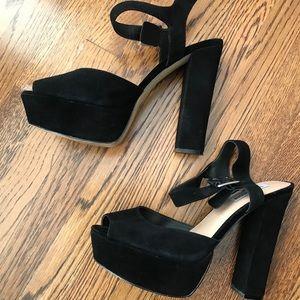 Steve Madden Platform Heels Size 10